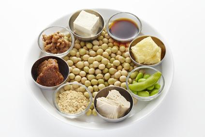 大豆を使った8つの食材写真