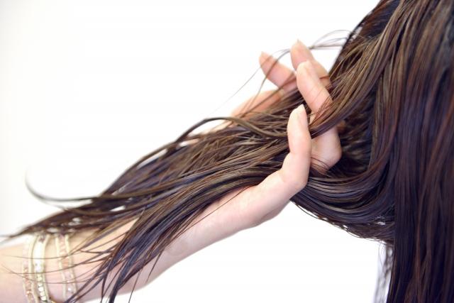 髪の指通り