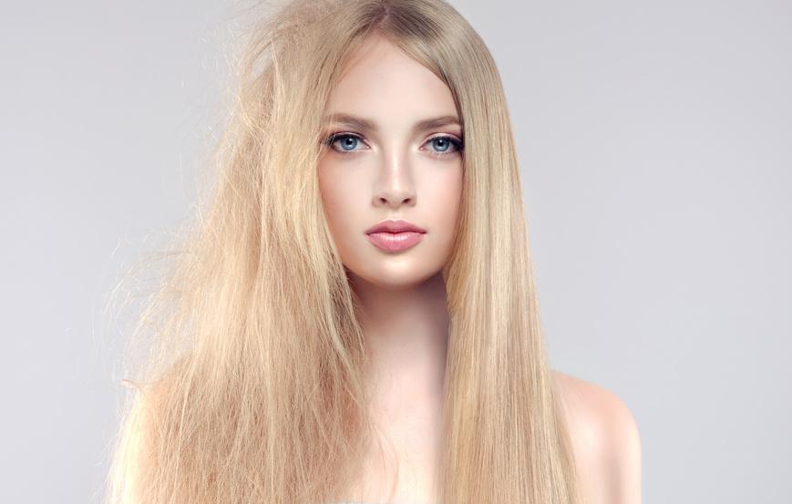 傷んだ髪ときれいな髪